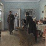 """Илья Репин """"Не ждали"""" 1884-1888"""
