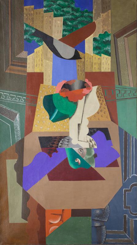 """Леопольд Сюрваж """"Ваза с камелией и птица"""" 1919"""