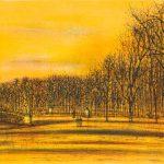 """Жан Карзу """"Мост в парке"""""""