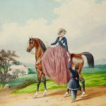 """К.К. Гампельн """"Любовное послание"""" Около 1850"""