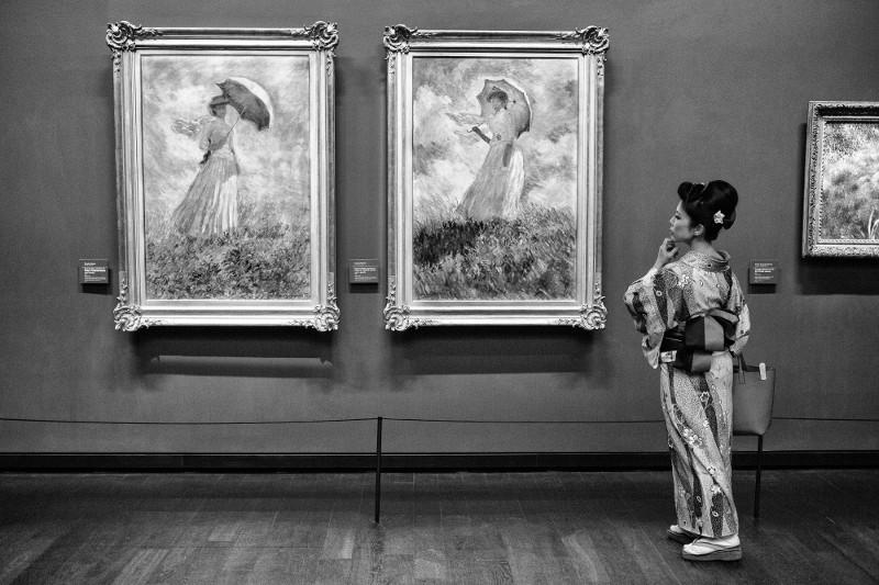 """Жерар Юфера """"Музей Орсэ"""" Париж, февраль 2017"""