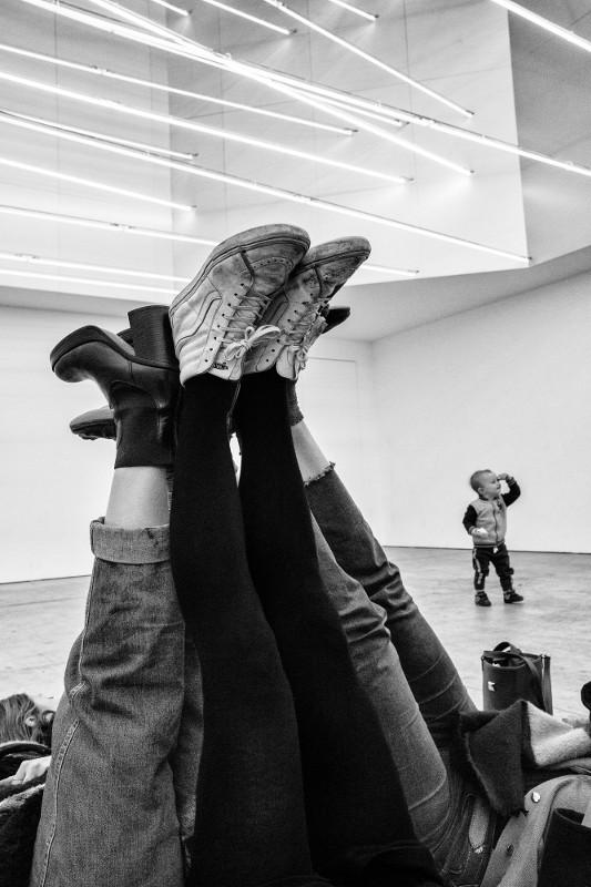 """Жерар Юфера """"Фонд Pirelli Hangar Bicocca, выставка Лучо Фонтана"""" Милан, декабрь 2017"""