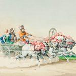 """К.К. Гампельн """"Тройка"""" Около 1850"""