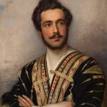 "Карл Йозеф Штиллер ""Портрет князя Г.Г. Гагарина"" 1837-1839"