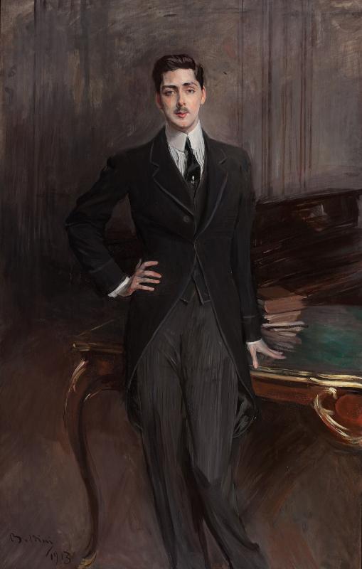 """Джованни Больдини """"Портрет графа С.П. Зубова"""" 1913"""