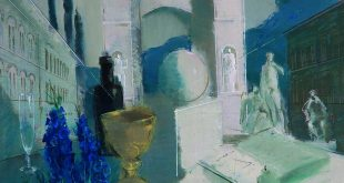 Андрей Жевакин. Натюрморт с черным стулом.
