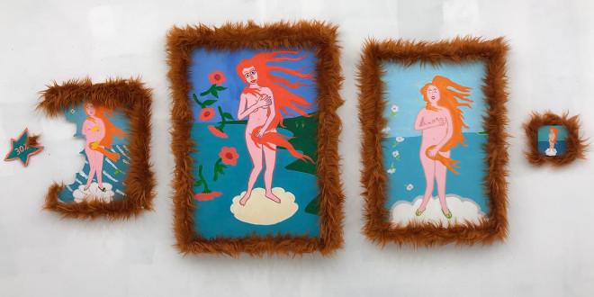 """Выставка """"ЕлиКука. Венеры в мехах"""". Syntax gallery в Арт-пространстве Cube.Moscow."""