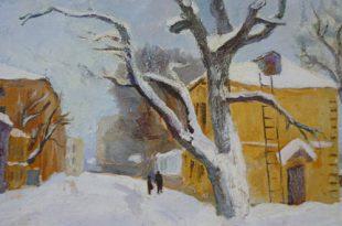 Выставка творческого наследия художника Николая Антипина.
