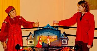 Театр «Душегреи». Весенний фольк-мюзикл «Пастушья дудочка».