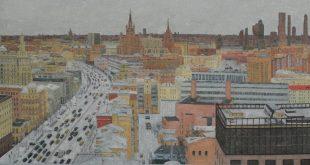 В городе М.... Зима.