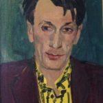 """Мартирос Сарьян """"Портрет Александра Каменского"""" 1957"""