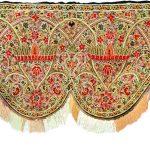 Ламбрекен для камина-бухары. Карабах (Азербайджан). 19 век