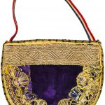 Мешочек для узерлика (степной руты) – амулет от сглаза. Азербайджан, начало 20 века