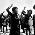 """Аньес Варда """"Черные пантеры"""" Демонстрация в Окленде"""" 1968"""