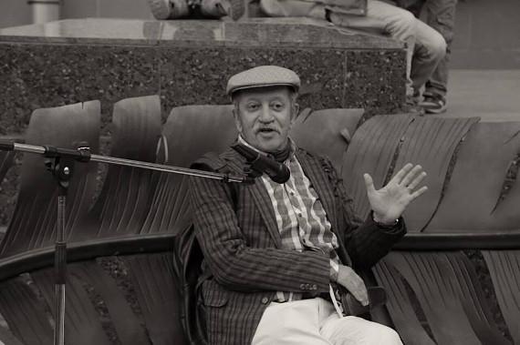 """Творческий вечер поэта и драматурга Вадима Жука. Галерея """"Открытый Клуб""""."""