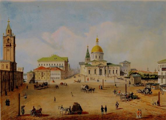 Историческое окружение дома на Тверской, 14. Утраченные святыни.