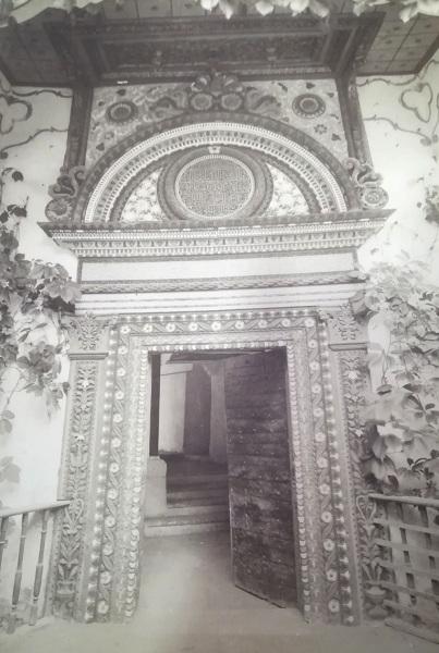 Иван Барщевский «Железная дверь хана Менгли-Гирея в Бахчисарайском дворце».