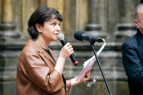 Марина Лошак, директор ГМИИ им. А.С. Пушкина