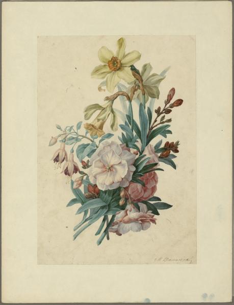 Михаил Васильев «Букет садовых цветов»