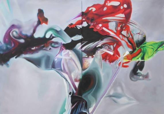 """Выставка """"Даша Кудинова"""". Галерея AZOT в Арт-пространстве Cube.Moscow."""