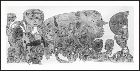 """Выставка """"Просто Космос"""". Выставочный зал «Народные картины» — Музей русского лубка и наивного искусства (бывший «Арт-Измайлово»)."""