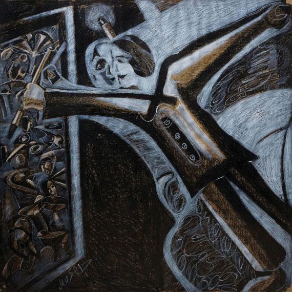 """Выставка """"Мусеиб Амиров. Блюз солнечного ветра"""". Галерея искусств Зураба Церетели."""