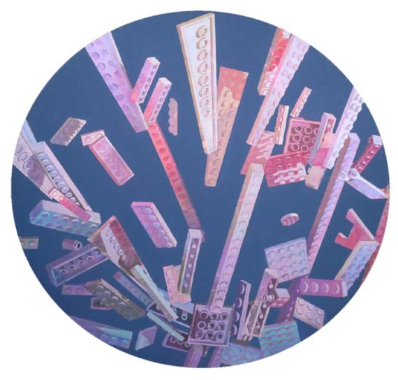 """Выставка """"Наталья Стручкова. Сошествие стирола"""". Syntax gallery в Арт-пространстве Cube.Moscow."""