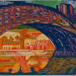 Линогравюры, ксилографии, офорты, литографии, живопись и гравировальные авторские доски художника.