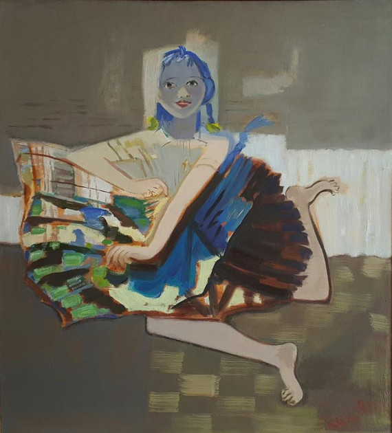Виктор Скалкин «Маленькая балерина» 1995