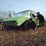 Концепт-кар Citroen Kar-A-Sutra, проект Марио Беллини совместно с фабрикой Cassina для Citroen, 1972