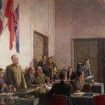 К 75-летию выхода Красной Армии на государственную границу СССР и началу освобождению европейских государств от нацизма.