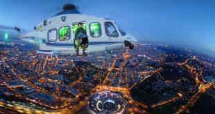 Массимо Сестини. Горизонты Италии. Вид из полицейских вертолетов.
