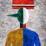 """Игорь Макаревич """"Портрет Пиноккио. Из серии """"Частичное изменение"""" 2006"""