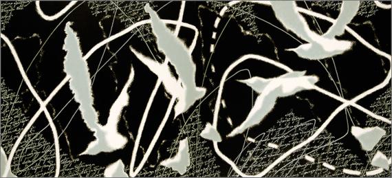 """Выставка """"Александр Олигеров. Небесная канцелярия"""". Nikolskaya Galery в Pop Up Museum."""