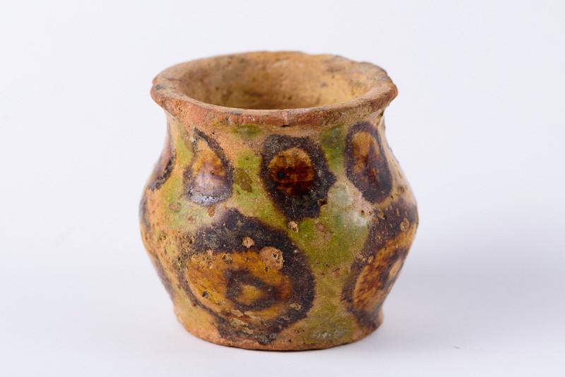 Сосуд. XII-XIII вв. н.э. (?) Могильник Верхний Кобан.