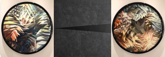 """Выставка """"Ольга Тобрелутс и Мице Янкуловски. Транскодер. До и после медиа в абстракции"""". Палаццо Ca' ZANARDI, Венеция."""