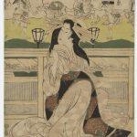 "Эйдзан Кикугава ""Фудзивара из Дома Цуруя"" Около 1811–1814"