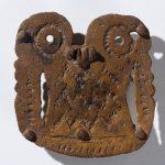 Пряжка. VI-V вв. до н.э. Луговой могильник.
