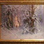 "Ю.Ю. Клевер ""Зимний пейзаж"" 1897"