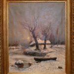 "Ю.Ю. Клевер ""Зимний пейзаж"" 1892"