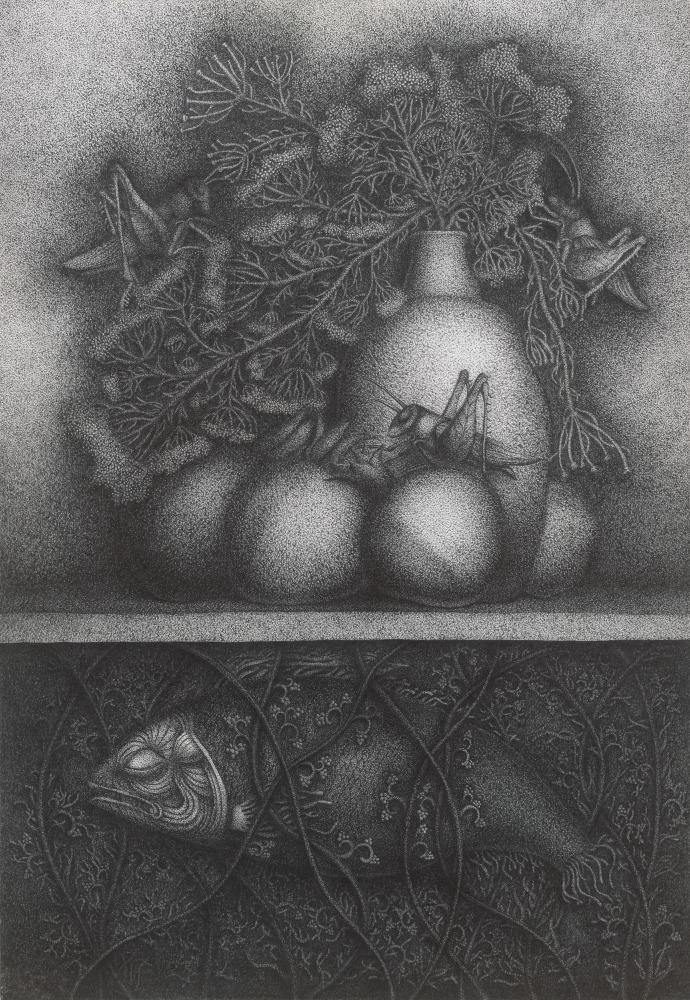 Иллюстрации к новеллам и сказкам Пола Гэллико. Станковая графика.
