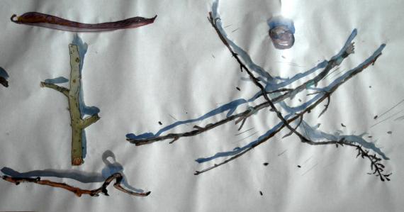 """Выставка """"Владимир Ситников. Под ногами"""". Крокин Галерея."""