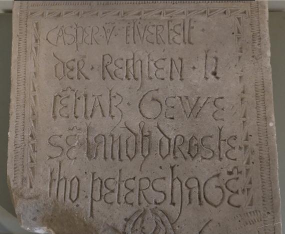 Надгробие Каспара фон Эльферфельдта