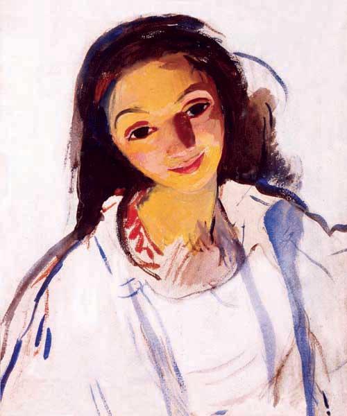 Зинаида Серебрякова «Автопортрет» 1910-е Предоставлено KGallery.