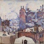"Константин Истомин ""Московский переулок"" 1926"