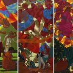 "Азам Атаханов ""Проснись, Азам! Триптих"" 2013"