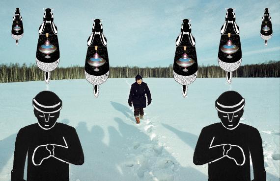 Андрей Монастырский «Без названия» из серии «Коллажи» 2019 © Shaltai Editions