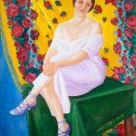 """Фавста Шихманова """"Портрет балерины"""" Середина 1910-х"""