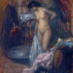 """Рикард Каналс """"Ванна"""" 1905"""