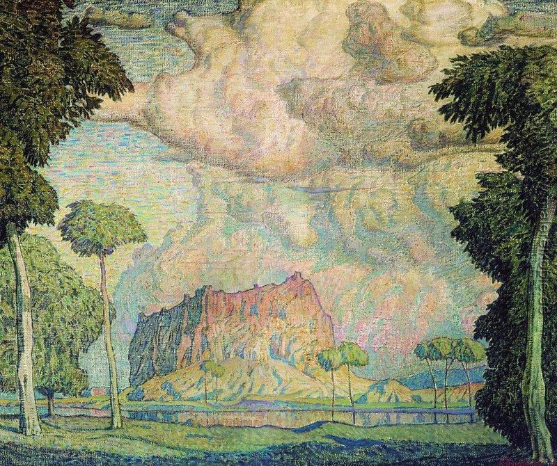 """Богаевский К.Ф. """"Тропический пейзаж"""" 1906"""